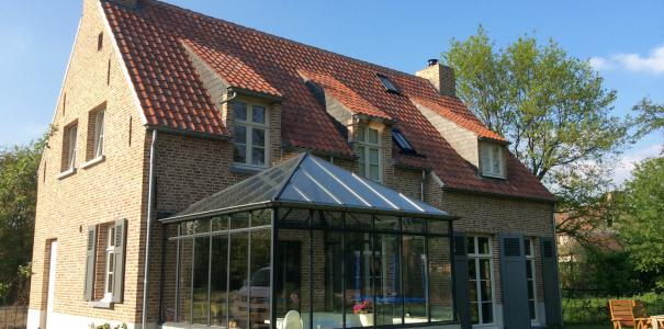 Nieuwbouw woning in kempische stijl Zetten