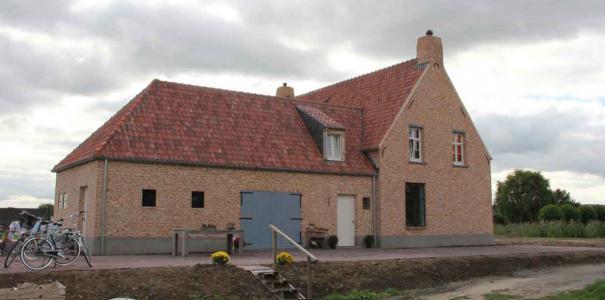Nieuwbouw woning in kempische stijl te Randwijk
