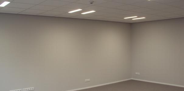 Nieuwbouw kantoor en bedrijfswoning met domotica Herveld