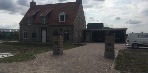 Nieuw te bouwen woonhuis in kempische stijl te Opheusden