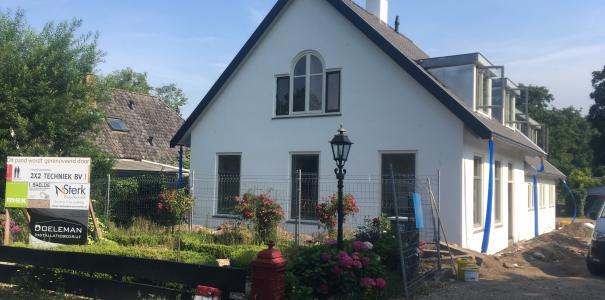 Renovatie woonhuis te Groenekan