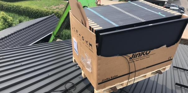 Aanleg 180 zonnepanelen te Ochten