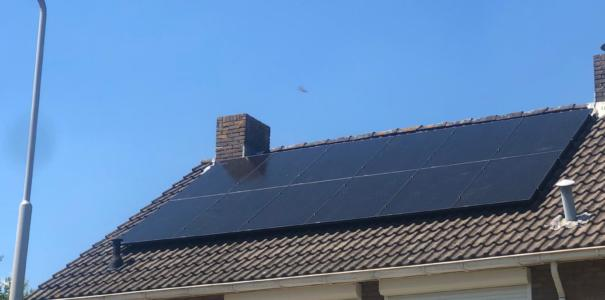 12 Fullblack zonnepanelen, te Zetten