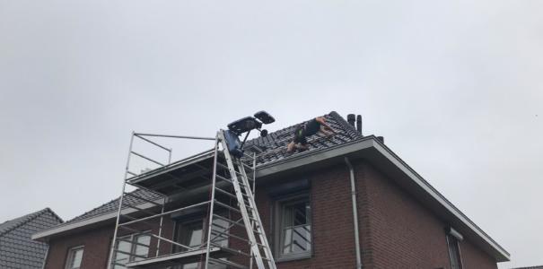 Project opgeleverd van 18 zonnepanelen, te Ochten