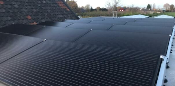 34 zonnepanelen geplaatst te Dodewaard