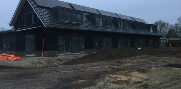 Nieuwbouw 5 woningen te Putten