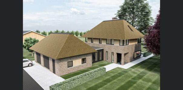 Nieuwbouw woning te Herveld